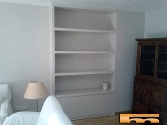 Muebles armarios a medida cocinas puertas espacios - Estanterias a medida ...