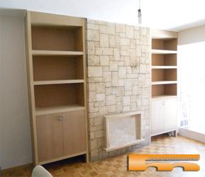Muebles armarios a medida cocinas puertas espacios - Estanteria a medida ...