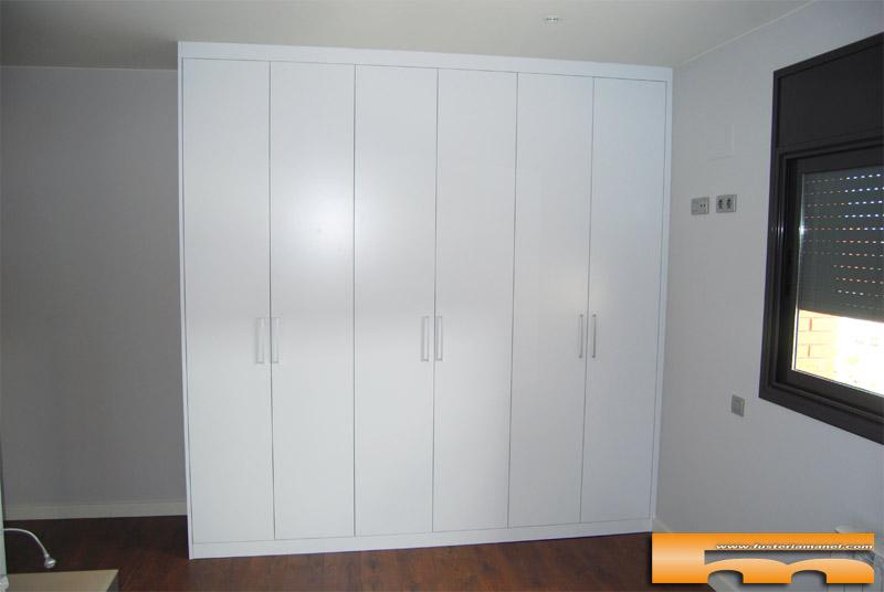 Diseo de armarios empotrados excellent puertas de - Montaje armario empotrado ...