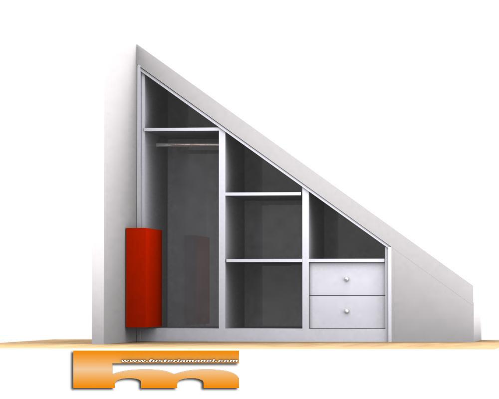 Armario Debajo De La Escalera Armario Bajo Escalera With Armario  # Muebles Debajo De Gradas