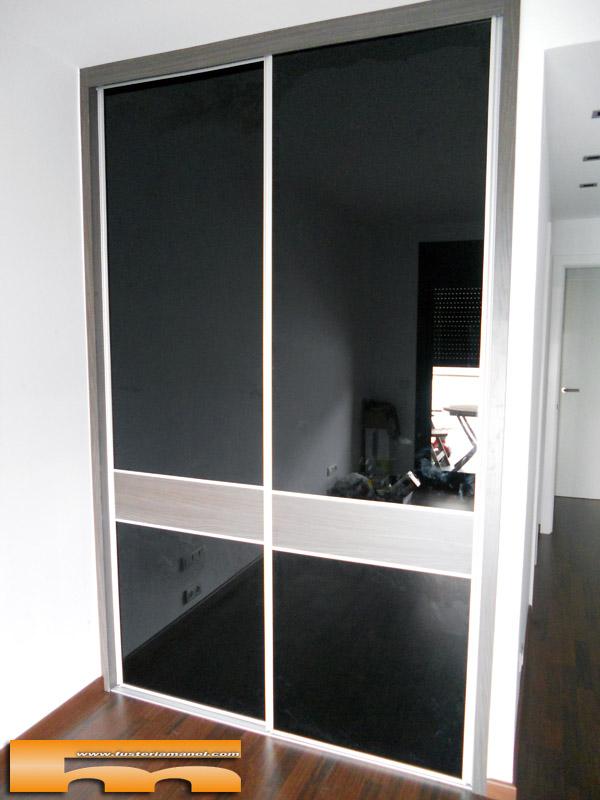 Armarios con puertas de cristal top vidrio negrod with armarios con puertas de cristal best - Puertas de cristal para armarios ...