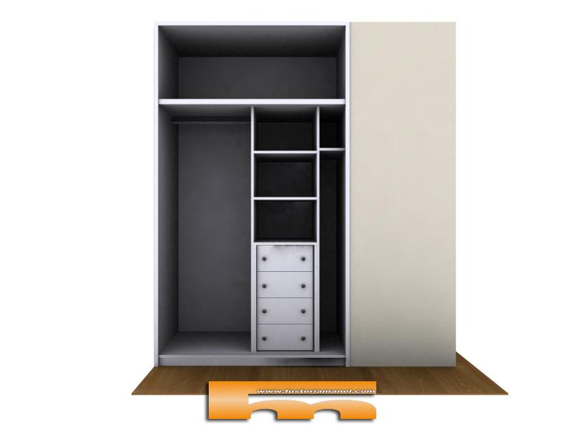Mi casa decoracion vestir armario empotrado en ikea - Hacer armario empotrado ikea ...