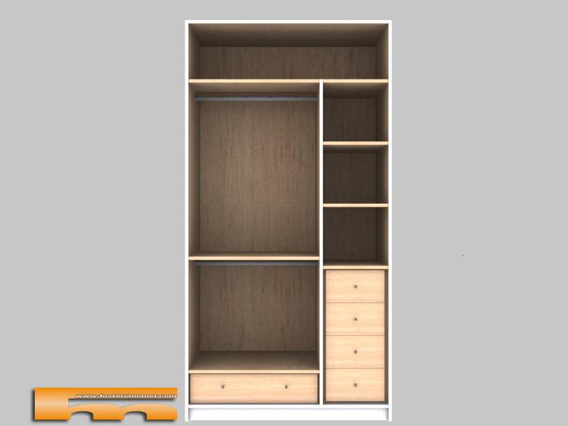 Armarios a medida lacado barcelona teresa for Diseno interior de armarios