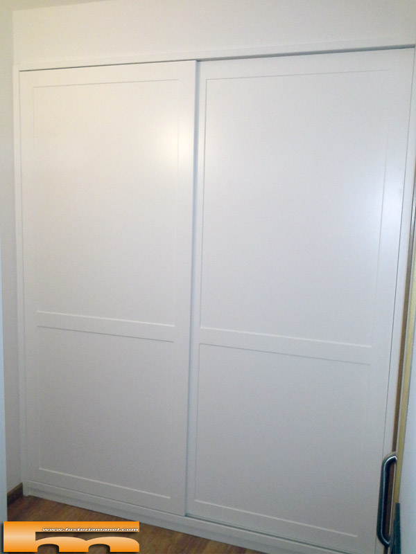 1000 images about dormitorio on pinterest ponytail - Puertas correderas para armario empotrado ...