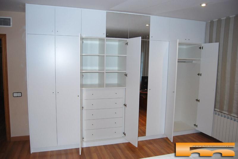 Puertas para armarios a medida trendy armarios alcal - Fabricar armario empotrado ...