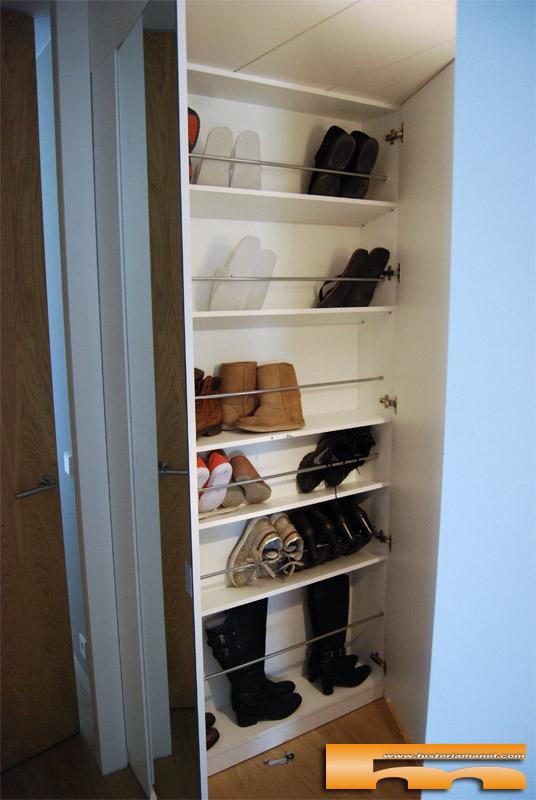 armario recibidor zapatero espejo caldes laura