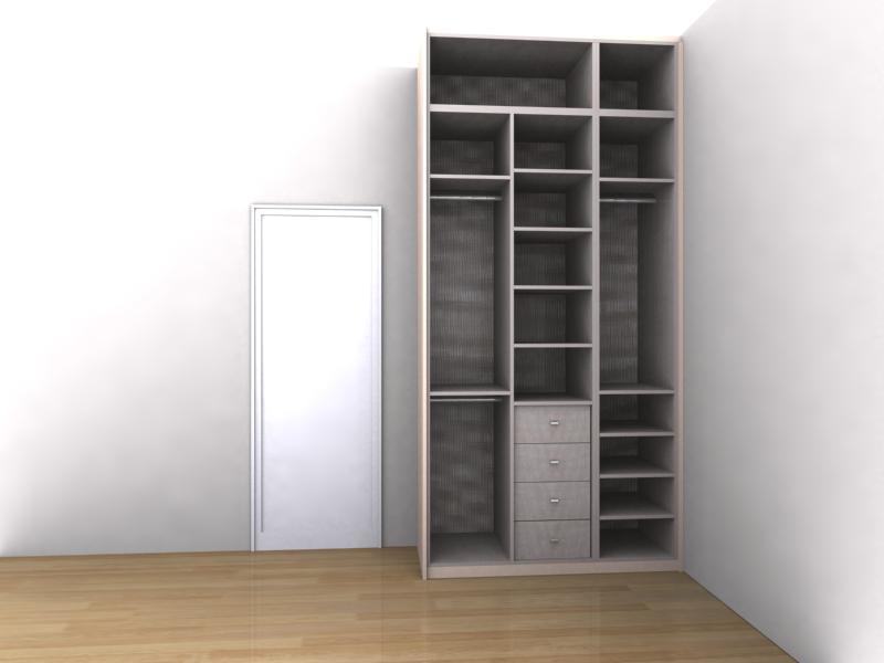 Mudanzas El Cambio De Armario - Diseo-interior-armarios-empotrados