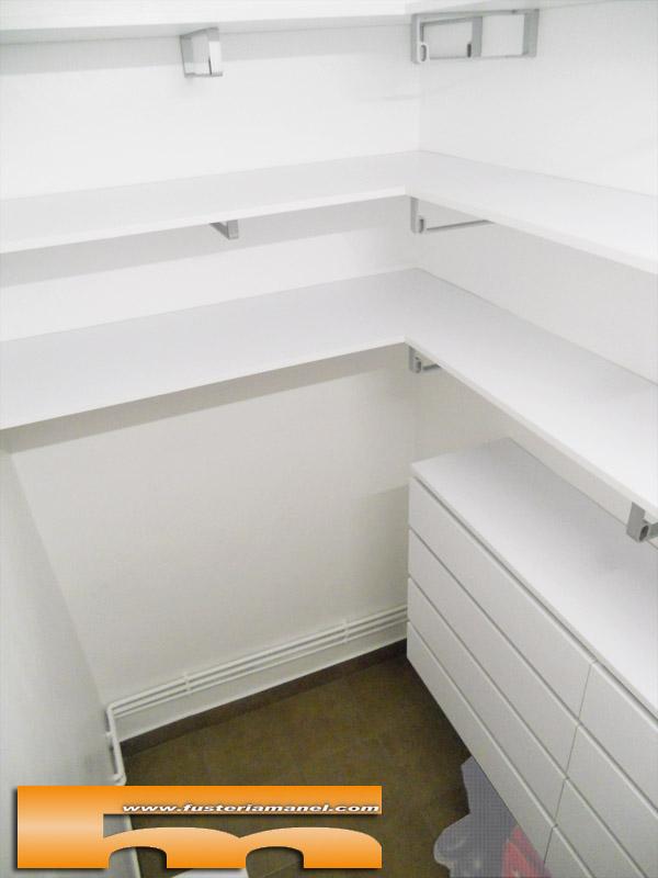 Vestidor peque o a medida barcelona anna - Medidas de un armario ...
