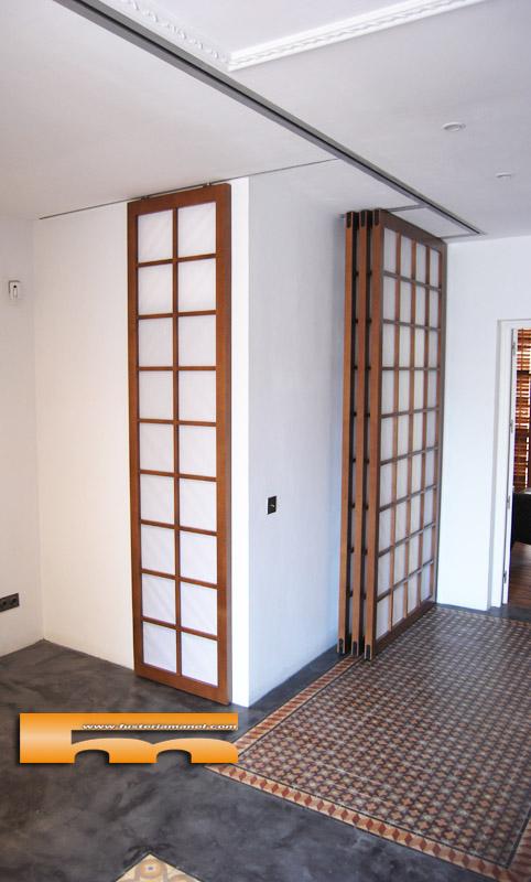 Puertas paneles shoji correderas jose barcelona - Puertas shoji ...