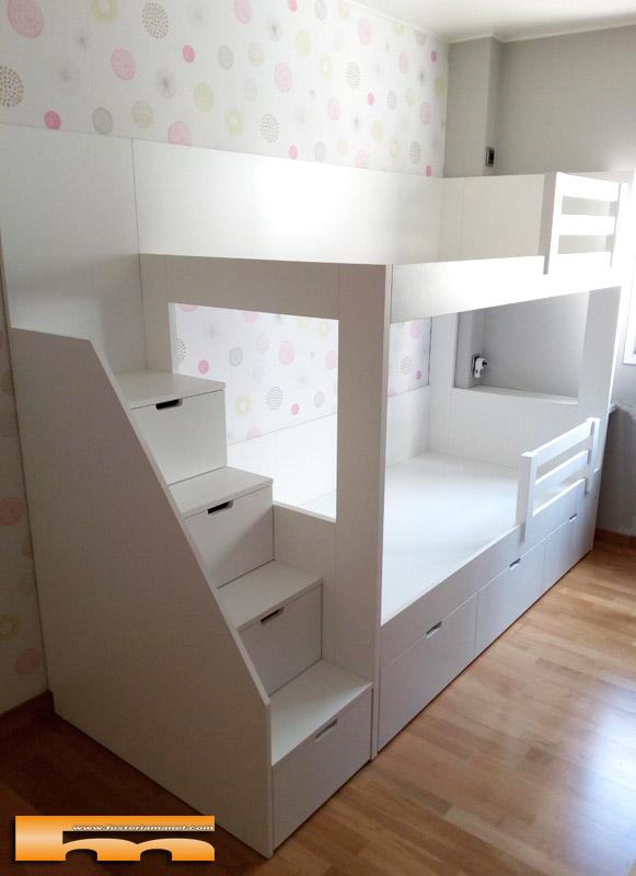 Literas camas realizadas habitaciones fichas - Habitacion con litera ...