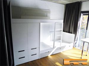 Decorar con armarios y muebles a medida - Literas tren medidas ...