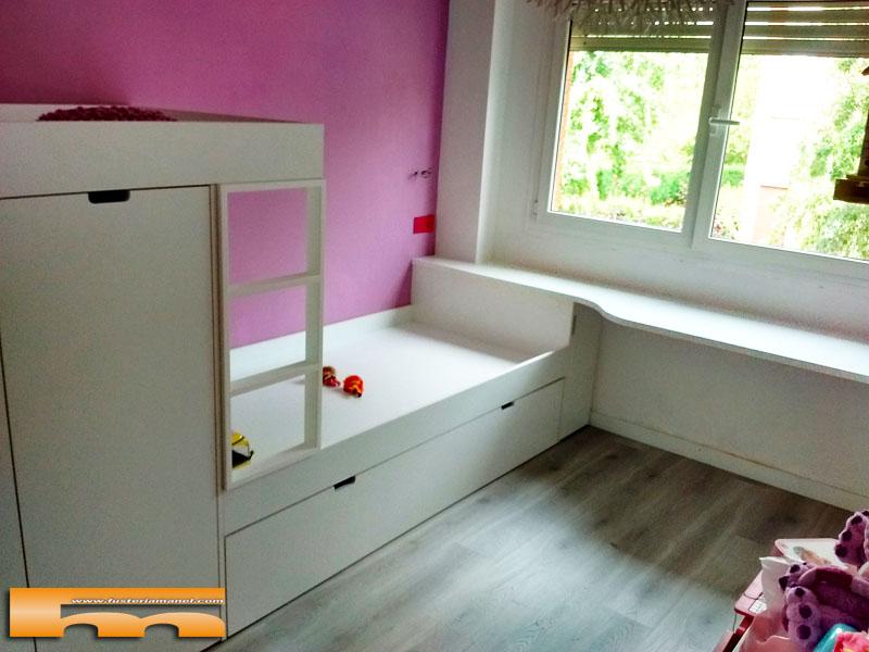 Litera Tren Habitación Infantil Niñas Laura Sant Cugat