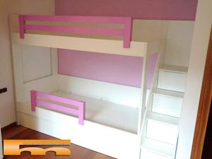 Literas camas realizadas habitaciones fichas - Literas para ninas ...