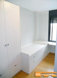 Literas camas realizadas habitaciones fichas for Cama infantil compacta