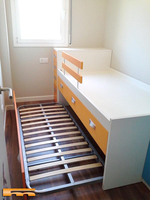 Cama compacta habitacion infantil mariajos sant feliu - Cama compacta infantil ...