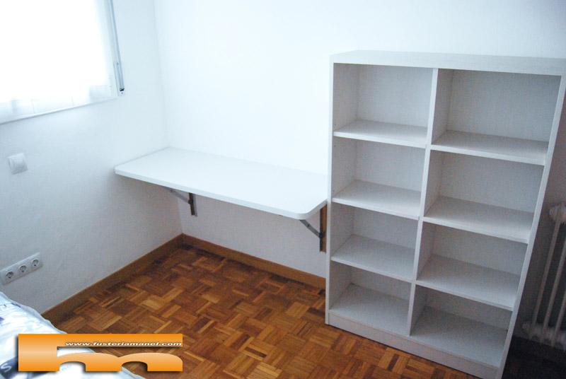 Habitaci n ni os con cama compacta armario escritorio - Escritorio habitacion ...