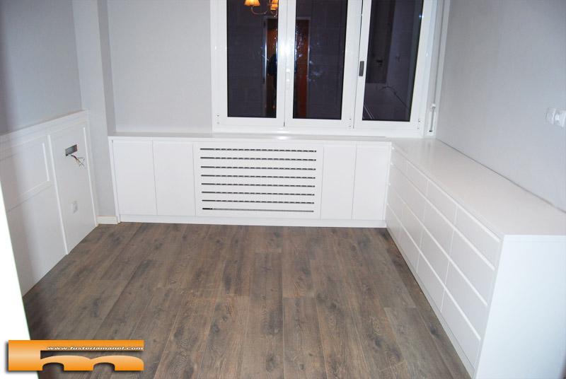 C moda a medida esquinera lacado dormitorio principal - Habitacion a medida ...