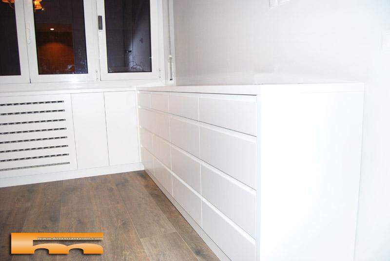 C moda a medida esquinera lacado dormitorio principal - Muebles on line barcelona ...