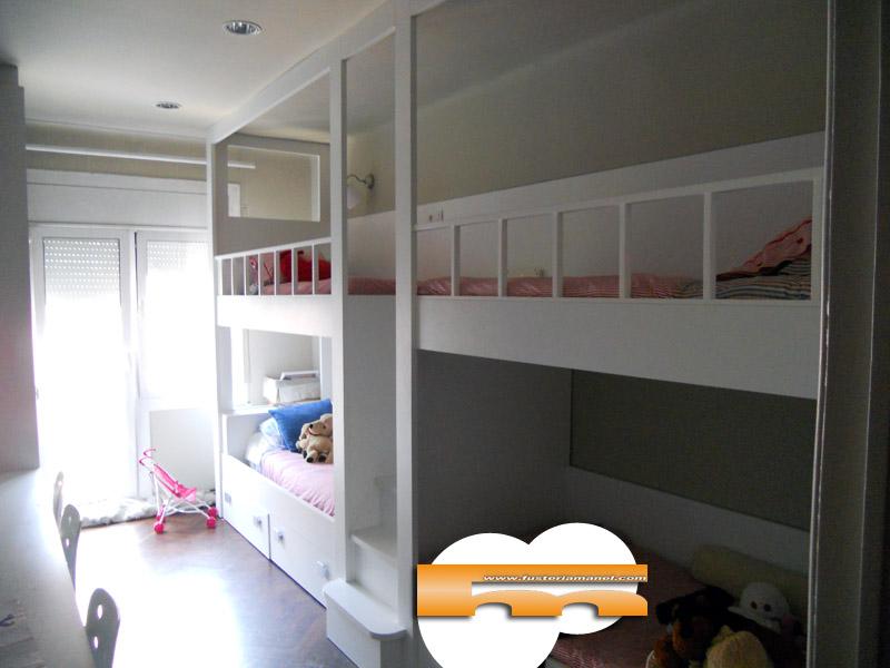Literas y camas a medida - Medidas camas infantiles ...