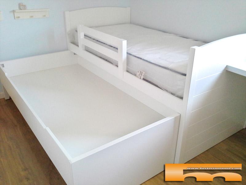 Habitacion infantil ni o cama y armario a medida - Medidas camas infantiles ...