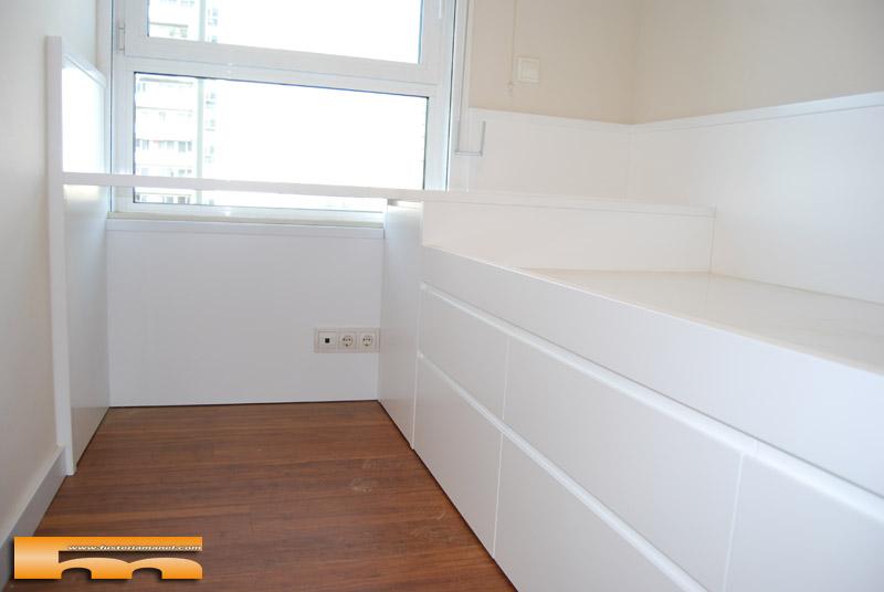 Cama compacta habitacion juvenil carme barcelona for Zapatero para habitacion