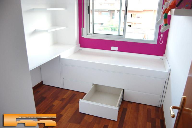 Cama compacta habitacion juvenil merce sant cugat - Habitacion juvenil barcelona ...