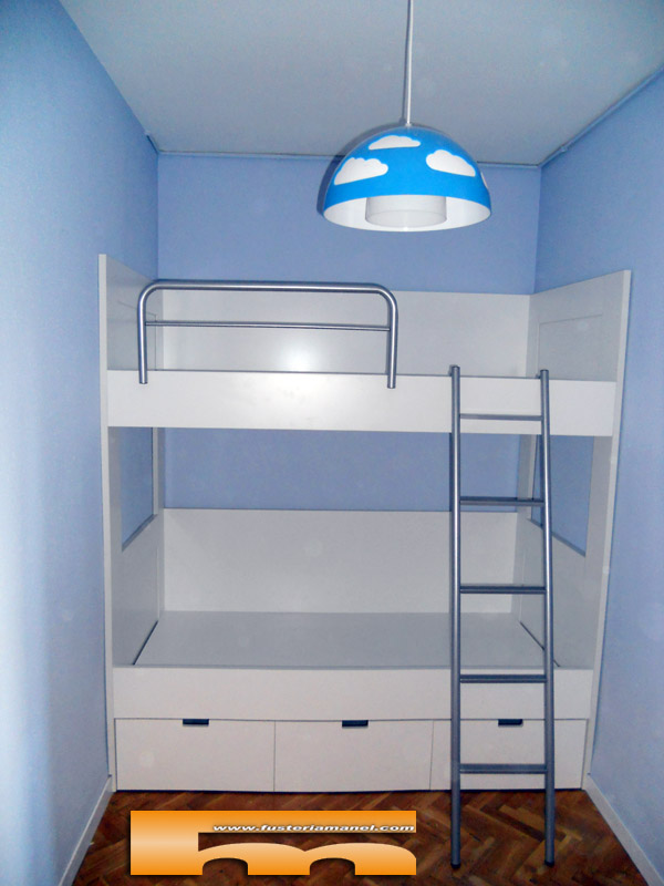 Litera a medida habitaci n infantil barcelona alex - Muebles infantiles barcelona ...