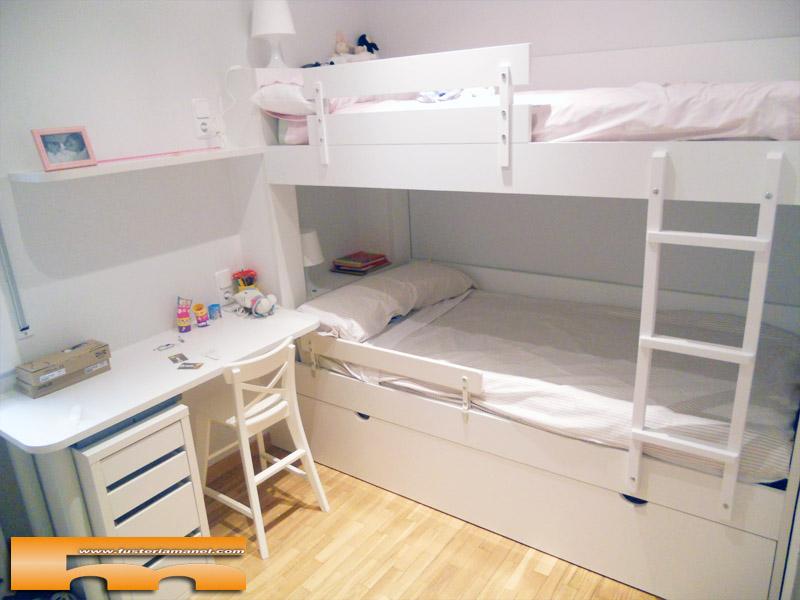 Litera a medida habitaci n infantil barcelona gonzalo - Habitacion con literas para ninos ...