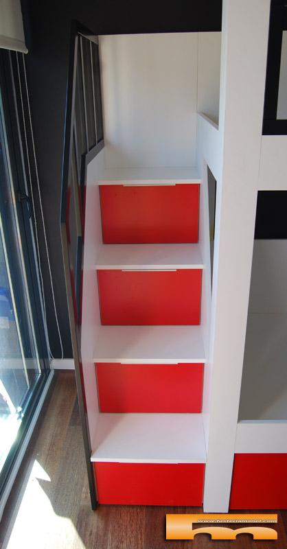 Litera a medida Escalera Lateral | Habitación Infantil | Vallromanes ...
