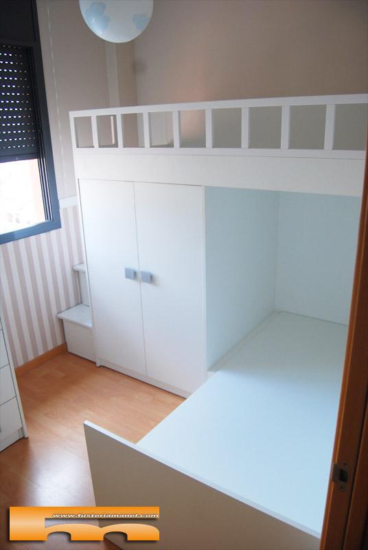 1000 images about habitaciones infantiles on pinterest for Cama infantil