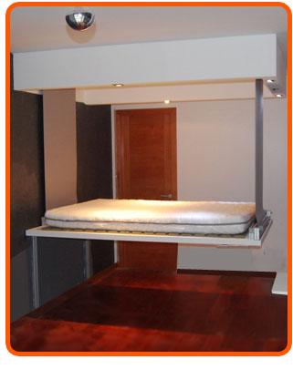 Camas para espacios peque os la solucion baja del techo - Cama para espacios reducidos ...