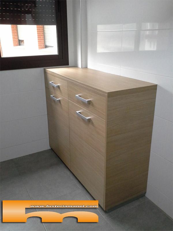 Mueble para cocina a medida barcelona beatriz for Mueble pared cocina