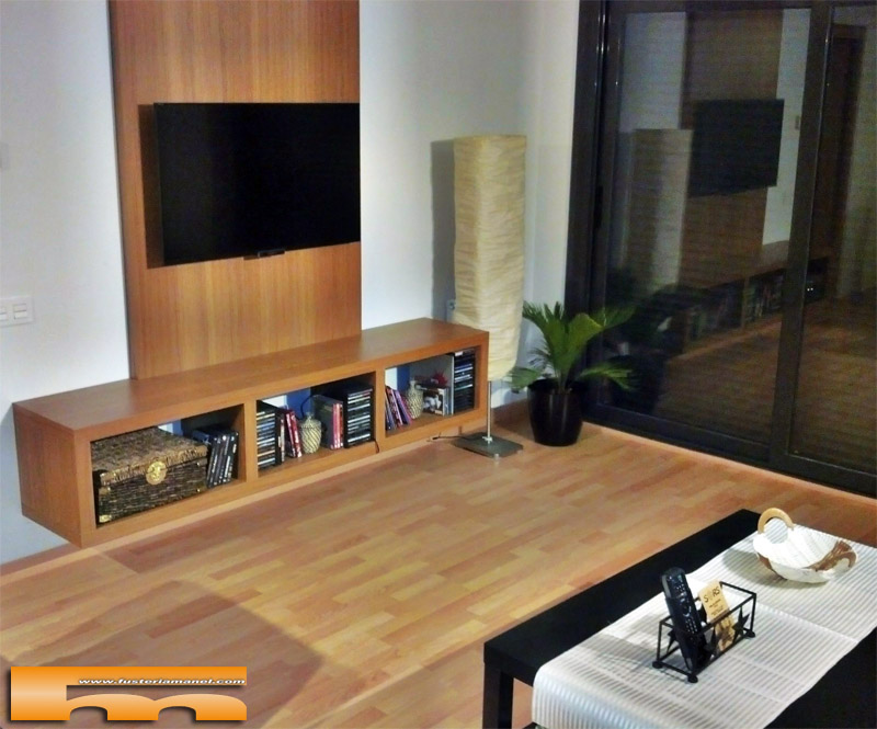 Mueble Salón Tv a medida | Badalona | Oscar