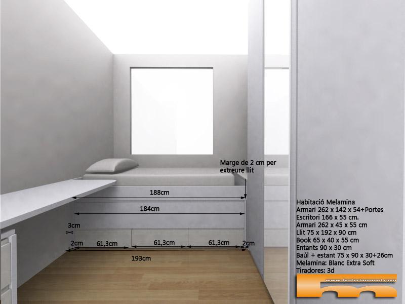 habitacion_infantil_a_medida_decoracion_escritorio_cama_compacta_3d_Arantxa_Barcelona Viladecans