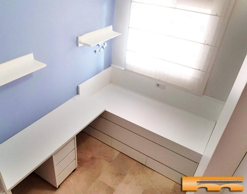 habitacion_infantil_a_medida_decoracion_escritorio_cama_compacta_Arantxa_Barcelona Viladecans