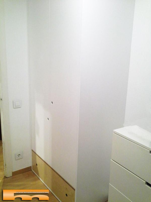 armario a medida lacado habitacion infantil juvenil mix haya Armonia Barcelona