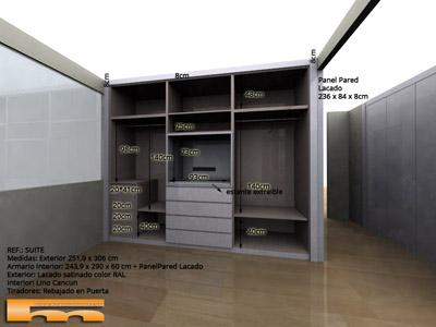 armario_empotrado_a_medida_dormitorio_principal_lacado_tv_Rocio_Sant_Cugat_del_Valles_3d
