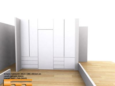 armario_vestidor_baño_puerta_separador_a_medida_lacado_Barcelona_Clara_3d