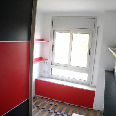 habitación infantil juvenil a medida armario y canape y estudio jose 2 Sant Boi de Llobregat