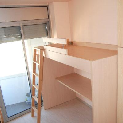 Cama_alta_habitación_juvenil_Barcelona1
