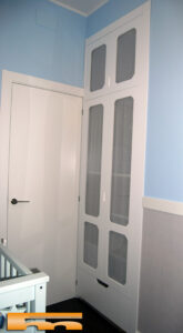 armario empotrado a medida infantil cortina rubi barcelona