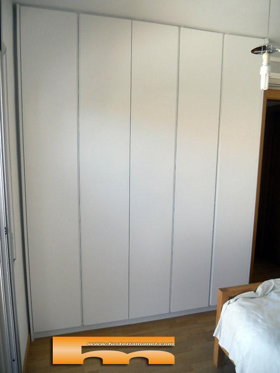 armario lacado a medida sabadell forntal damia