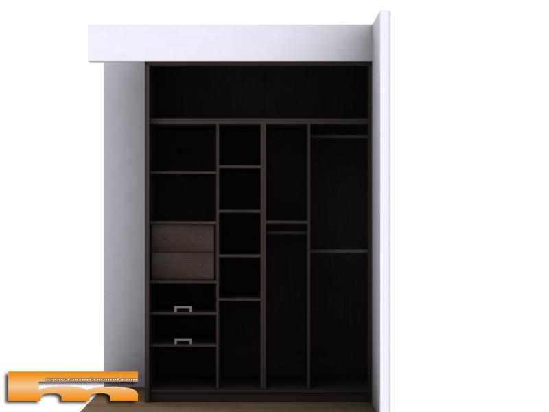 armario_a_medida_correderas_wengue_hospitalet_llobregat_ruben interior 3d