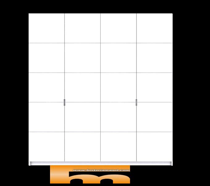 armario_empotrado_lacado_sin_tirador_relieve_diseño_3d