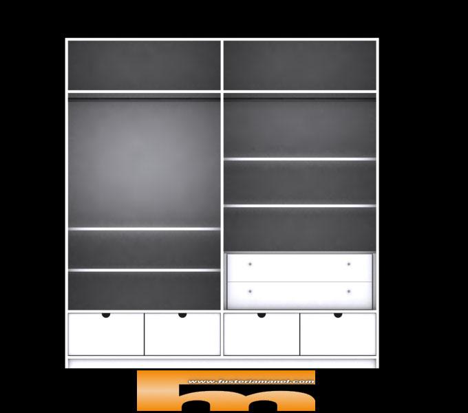 armario_empotrado_lacado_sin_tirador_relieve_diseño_int_3d