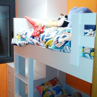Habitacion Infantil Litera y Armario | David | Rubí