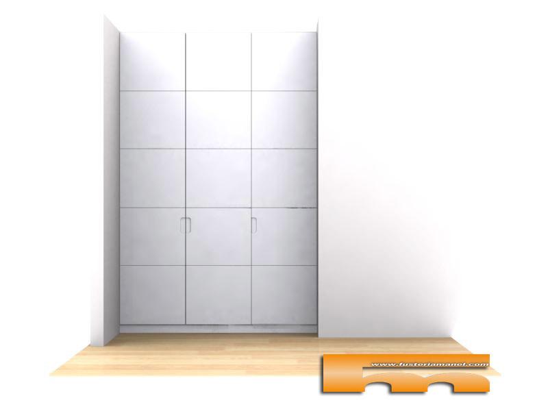armarios-a-medida-abuhardillado-lacado-parets-del-valles-roberto-3d