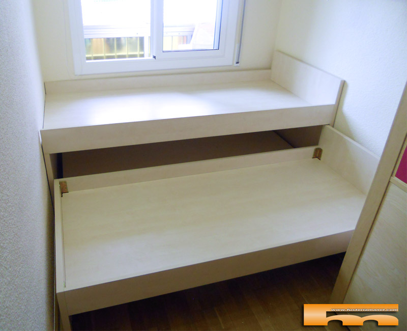 cama-compacta-nido-doble-con-cajones-a-medida-Santa-Coloma-Barcelona-Juan-1