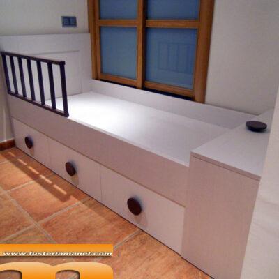 cama individual infantil a medida Matadepera Barcelona 1