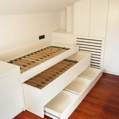 Habitación Juvenil Buhardilla a medida | Amaya | Sant Andreu de Llavaneres